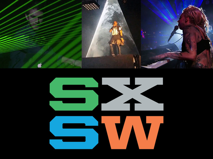 Lightwave takes the famous Austin festival by storm supporting multiple artists on several stages with great laser performances.