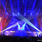 5 Gum corporate theater with FogScreen and laser special effects by Lightwave International